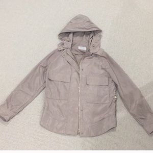 Light weight Zara rain coat